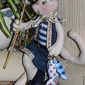 Куклы и игрушки ручной работы. Ярмарка Мастеров - ручная работа КОТ-РЫБАК. Handmade.