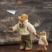 """Куклы и игрушки ручной работы. Ярмарка Мастеров - ручная работа Авторские мишки Тедди.  """"Мечтатели"""". Handmade."""