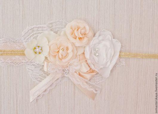 Свадебные украшения ручной работы. Ярмарка Мастеров - ручная работа. Купить Браслет для подружки невесты. Handmade. Кружево, подружки невесты