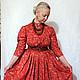 Платья ручной работы. Заказать Русское платье. Лоскутный Дом (Elenat1906). Ярмарка Мастеров. Повседневное платье, традиционная одежда