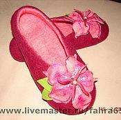 Обувь ручной работы. Ярмарка Мастеров - ручная работа Малиновый закат. Handmade.