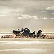"""Картины и панно ручной работы. Ярмарка Мастеров - ручная работа Фото картина морской пейзаж для интерьера спальни """"Солнечный дождь"""". Handmade."""