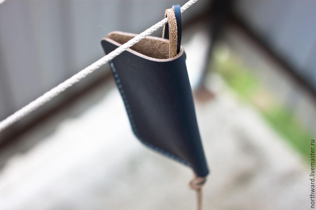 Кожаный чехол для ключей, Сумки и аксессуары, Обнинск, Фото №1