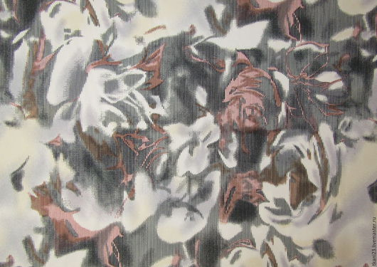 Шитье ручной работы. Ярмарка Мастеров - ручная работа. Купить Трикотаж джерси Рома арт.53 ТЗ-1 (Корея) серо-розовый принт. Handmade.