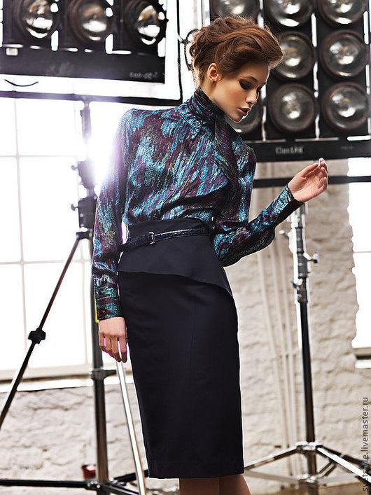 Красивая, удобная юбка из тончайшей итальянской шерсти. Ярмарка Мастеров - пошив юбки на заказ. Купить красивую юбку из тонкой шерсти. Дизайнер Лана Морозова
