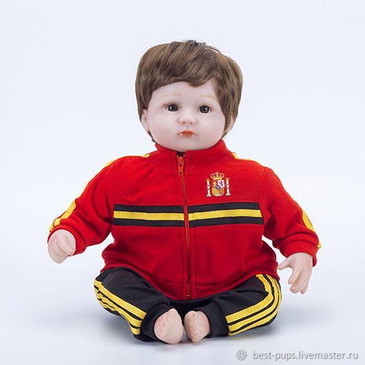 Кукла Reborn, футболист Испания (B), Куклы Reborn, Старый Оскол,  Фото №1