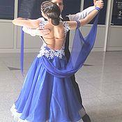 Одежда ручной работы. Ярмарка Мастеров - ручная работа Танцевальный костюм Европейская программа (стандарт). Handmade.