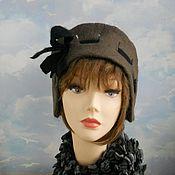 """Аксессуары handmade. Livemaster - original item wool  hat """"Retro"""". Handmade."""