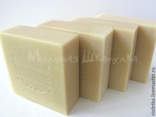Мыло ручной работы. Ярмарка Мастеров - ручная работа. Купить Натуральное мыло(с нуля)  Молочное. Handmade. Белый, молочное мыло