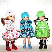 Одежда для кукол ручной работы. Ярмарка Мастеров - ручная работа Куртка, сапоги, шапка для Паолок. Handmade.