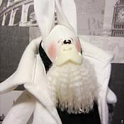 Куклы и игрушки ручной работы. Ярмарка Мастеров - ручная работа Заяц-БОРОДАЧ)))). Handmade.
