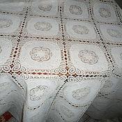 Ткани ручной работы. Ярмарка Мастеров - ручная работа Ткань с пропиткой -безе. Handmade.