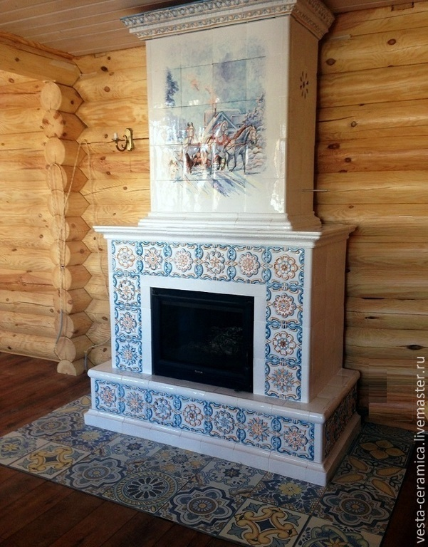 Fireplace 'Three', Fireplaces, Moscow,  Фото №1