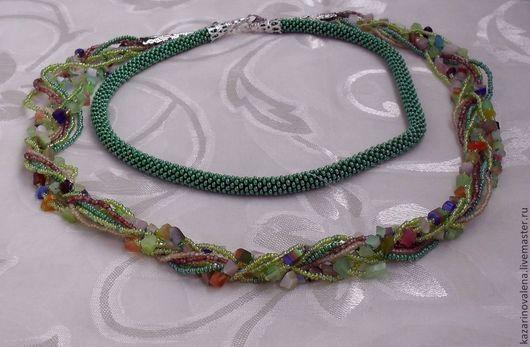 Бусы-ожерелье `Нимфа`