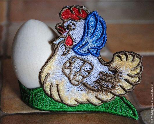 Подарки на Пасху ручной работы. Ярмарка Мастеров - ручная работа. Купить Подставка под яйца курочка и петушок. Handmade. петушок