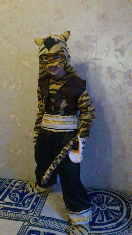 Детские карнавальные костюмы ручной работы. Ярмарка Мастеров - ручная работа. Купить Мастер Тигрица. Handmade. Рыжий, мастер тигрица