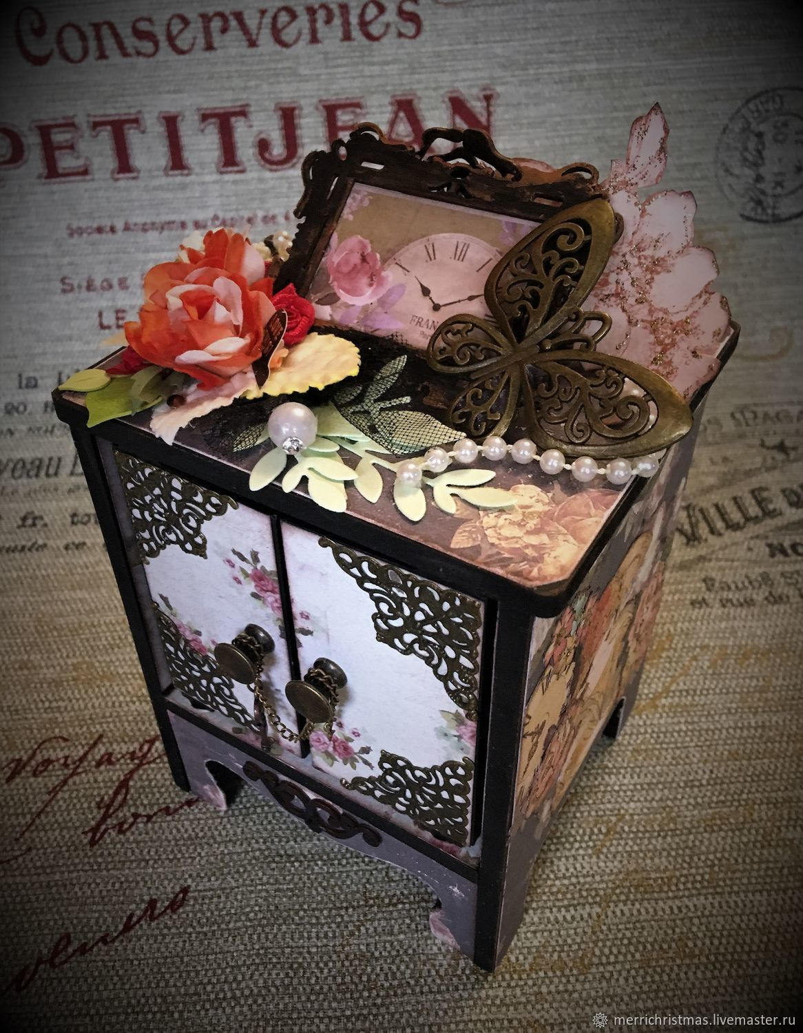 Box in vintage style ' Spring in Paris', Box, Moscow,  Фото №1