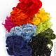 красный, оранжевый, розовый, желтый, голубой, зеленое яблоко, темно-синий, черный, темно-зеленый