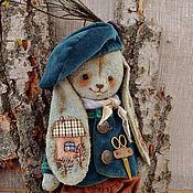 """Куклы и игрушки ручной работы. Ярмарка Мастеров - ручная работа Плюшевый заяц """"Марио"""". Handmade."""