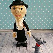 Stuffed Toys handmade. Livemaster - original item Soft knitted toy Old woman Shapoklyak. Handmade.