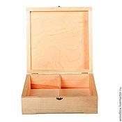 Материалы для творчества handmade. Livemaster - original item 25258P2 box decoupage under 25 25 8 on 2 cells. Handmade.