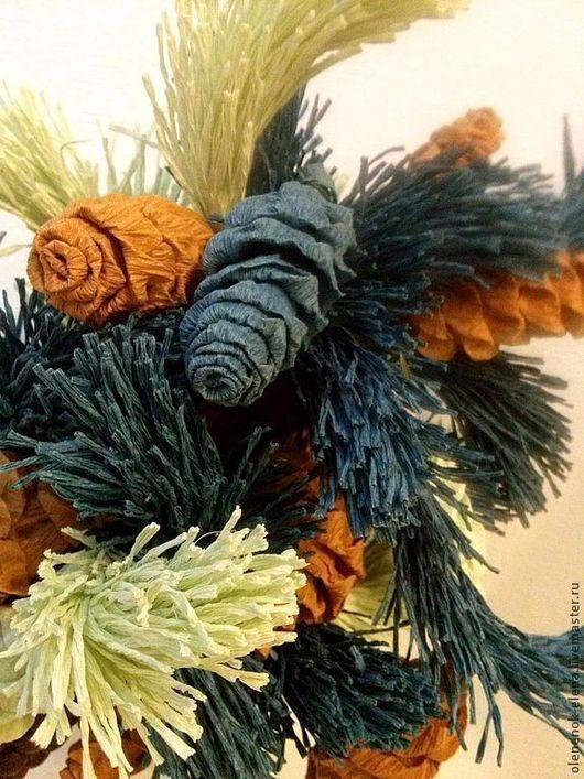 """Деревья ручной работы. Ярмарка Мастеров - ручная работа. Купить Дерево из конфет """"Ароматная сосна"""" букет из конфет. Handmade. Сосна"""