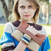 Сумки и аксессуары handmade. Livemaster - original item Brown clutch bag