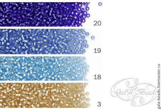 20   silver-lined transparent cobalt        прозрачный кобальт, внутреннее серебрение 19   silver-lined transparent light blue        прозрачный светло-голубой внутреннее              серебрение      18   silver-lined transparent ice blue        прозрачный голубой лёд внутреннее             серебрение  3   silver-lined transparent light gold        прозрачный светло золотой внутреннее        серебрение