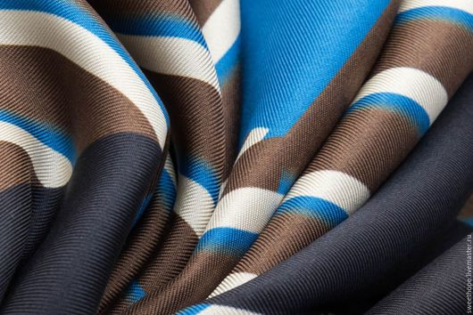 Шитье ручной работы. Ярмарка Мастеров - ручная работа. Купить Шелковый платок KENZO ( край не обработан). Handmade. Комбинированный