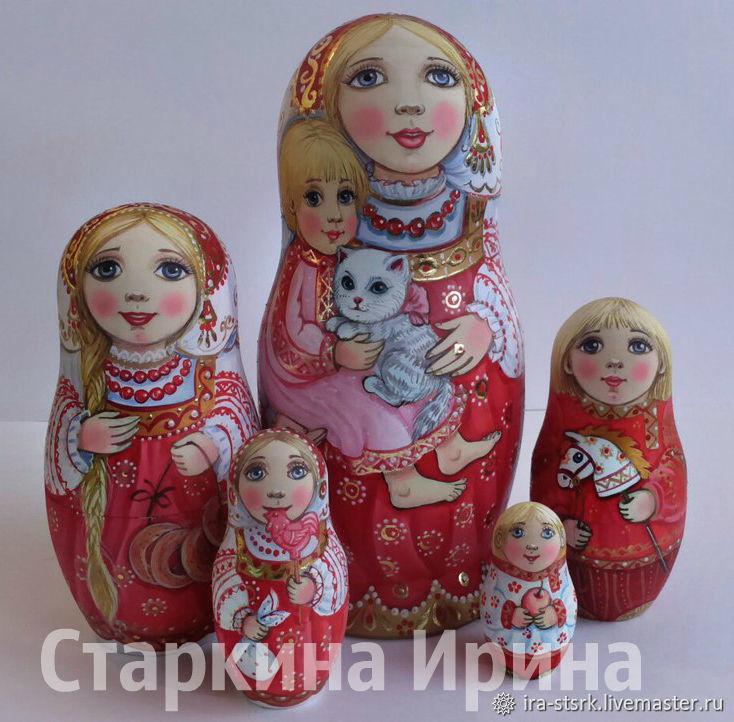 Matryoshka with gray cat, Dolls1, Vitebsk,  Фото №1