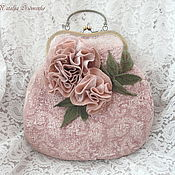 Сумки и аксессуары handmade. Livemaster - original item Felted handbag Fleur.. Handmade.