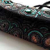 Сумки и аксессуары handmade. Livemaster - original item Handbag beaded theatrical evening Time. Handmade.
