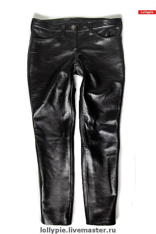 4362eb5d2231 Кожаные джинсы