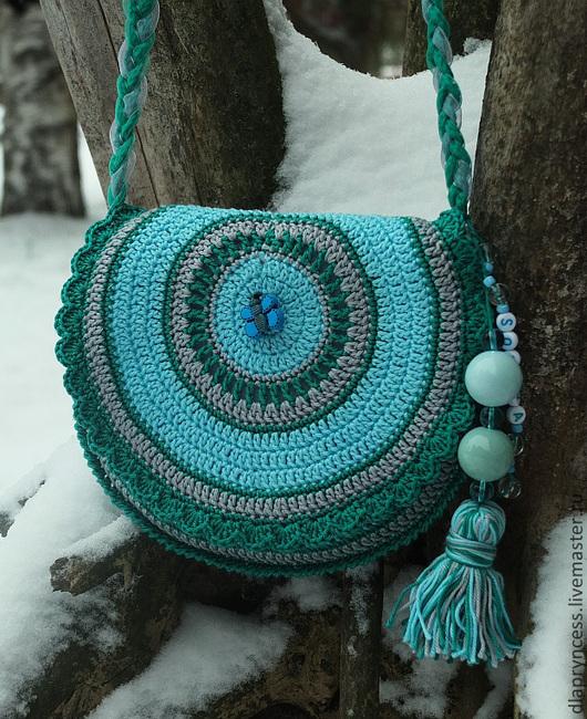 сумочка лазурная, сумочка для девочки сумочка с подвеской именной подарок девочке, подарок девочке к 8 марта, маленькая сумочка