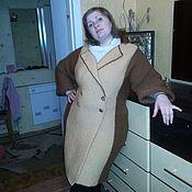 Одежда ручной работы. Ярмарка Мастеров - ручная работа Женское вязанное пальто, ручная работа (образец). Handmade.