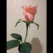 Цветы и флористика ручной работы. Ярмарка Мастеров - ручная работа Роза Интерьерная из фоамирана. Handmade.