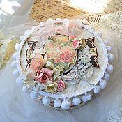 Свадебный салон ручной работы. Ярмарка Мастеров - ручная работа Свадебная открытка в коробочке. Handmade.