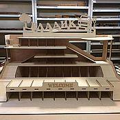 Кукольные домики ручной работы. Ярмарка Мастеров - ручная работа Игрушечный гараж для машинок. Handmade.