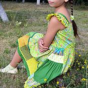 """Работы для детей, ручной работы. Ярмарка Мастеров - ручная работа Платье """"Фея лугов"""". Handmade."""