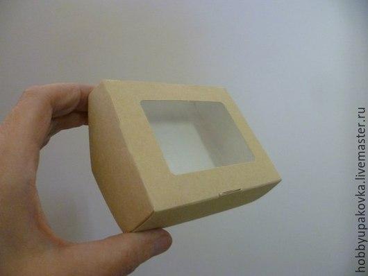 Упаковка ручной работы. Ярмарка Мастеров - ручная работа. Купить Коробка 8х10х3 см крафт. Handmade. Коробка упаковка купить