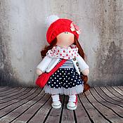 Куклы и игрушки ручной работы. Ярмарка Мастеров - ручная работа Иришка, 24см - интерьерная кукла. Handmade.