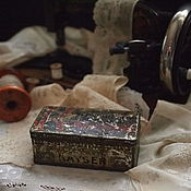 Винтаж handmade. Livemaster - original item Tin box from sewing machine Kaiser. Handmade.