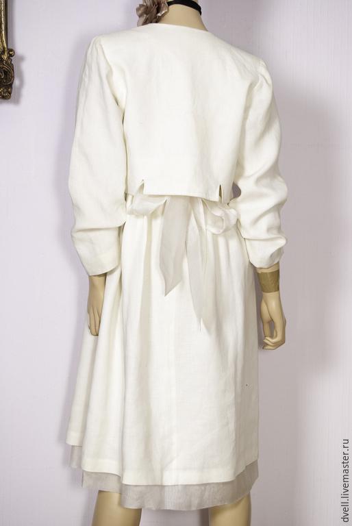 Платья ручной работы. Ярмарка Мастеров - ручная работа. Купить Платье костюм ,. Лето,,         №1. Handmade. Белый, стильно