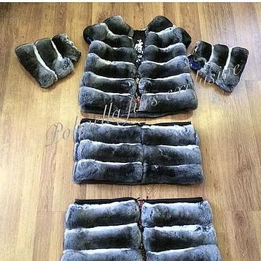 Одежда ручной работы. Ярмарка Мастеров - ручная работа Шуба из шиншиллы. трансормер. Handmade.