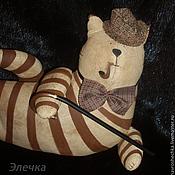 Куклы и игрушки ручной работы. Ярмарка Мастеров - ручная работа Шерлок Холмс (тильда). Handmade.
