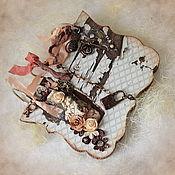 "Канцелярские товары ручной работы. Ярмарка Мастеров - ручная работа Артбук ""Венеция"". Handmade."
