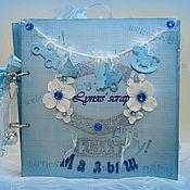 Photo albums handmade. Livemaster - original item album for a newborn mishutka