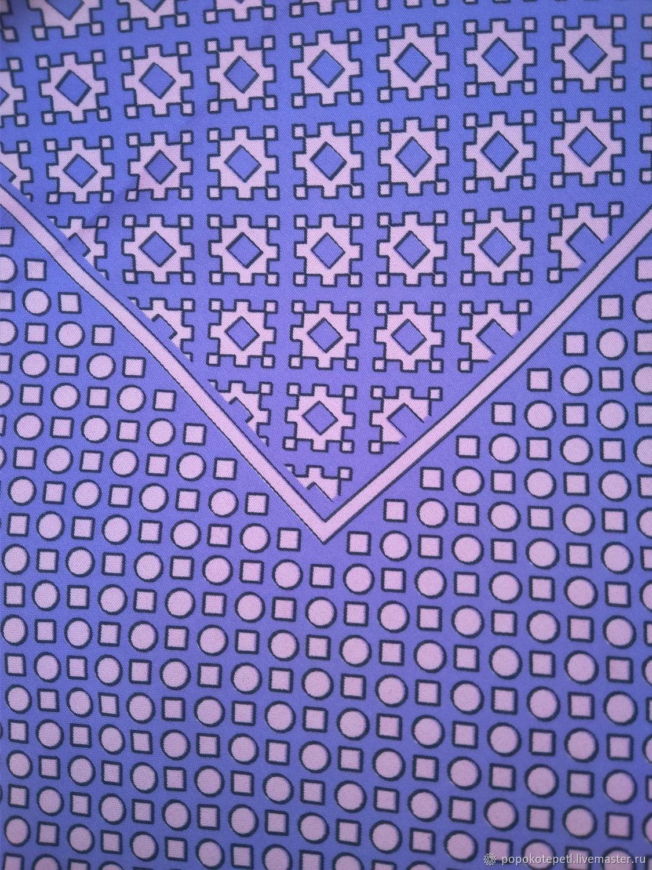 Винтаж: Большой платок, шелк 100%,винтаж Германия, Аксессуары винтажные, Новороссийск,  Фото №1