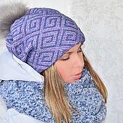 Аксессуары handmade. Livemaster - original item Knitted hat women