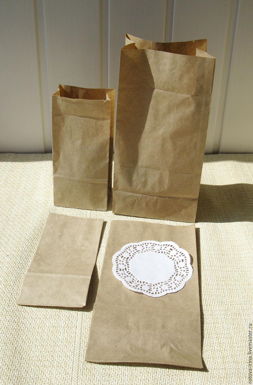крафт упаковочные пакеты